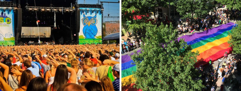 Music Midtown and Pride