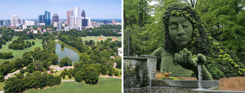 Piedmont Park and Botanical Gardens